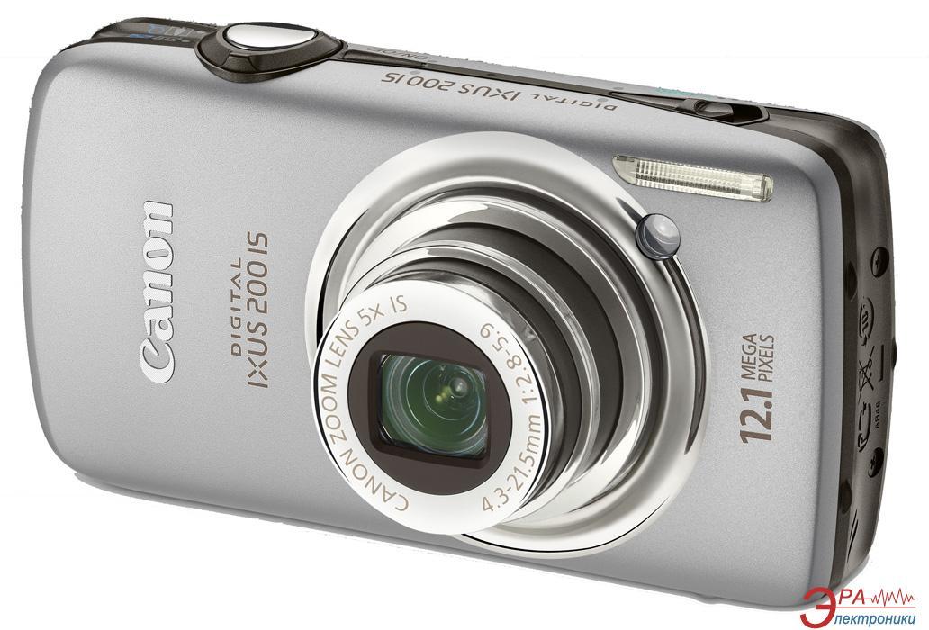 Цифровой фотоаппарат Canon DIGITAL IXUS 200 IS Silver (3638B001)