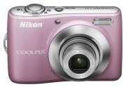Цифровой фотоаппарат Nikon COOLPIX L21 Pink (VMA582E6)