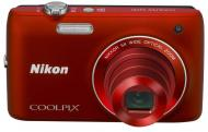 Цифровой фотоаппарат Nikon COOLPIX S4150 Red (VNA122E1)