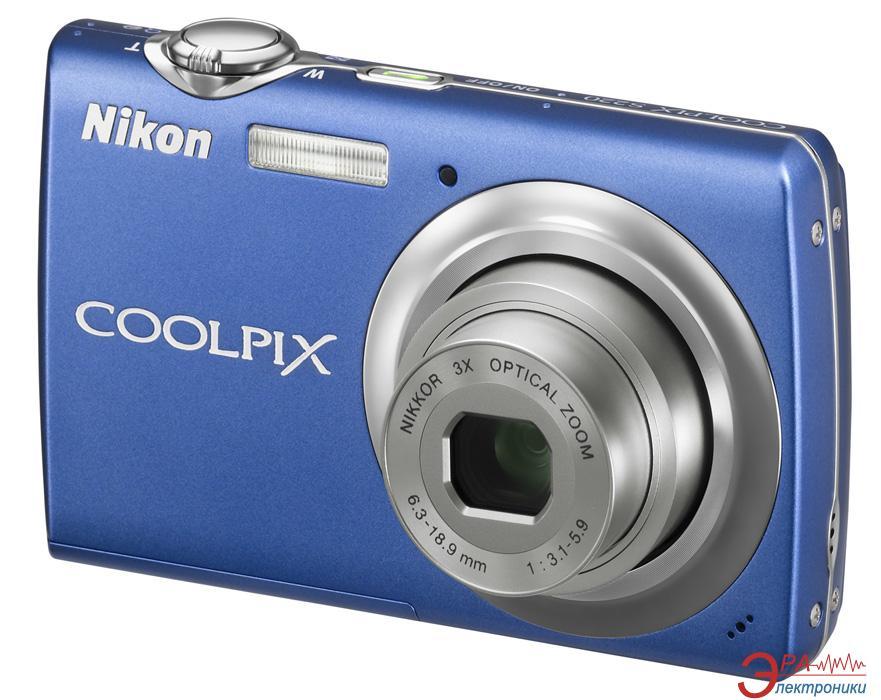 Цифровой фотоаппарат Nikon COOLPIX S220 Blue