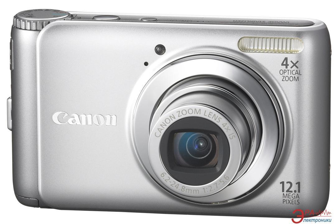 Цифровой фотоаппарат Canon PowerShot A3100 IS Silver (4255B002)