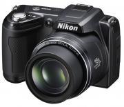 Цифровой фотоаппарат Nikon COOLPIX L110 Black (VMA600E6)