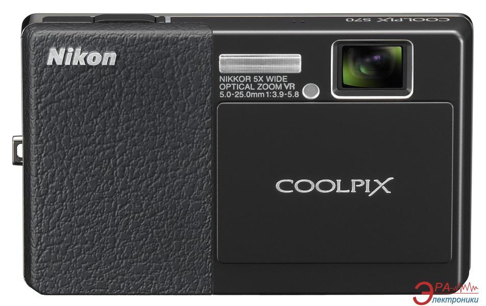 Цифровой фотоаппарат Nikon COOLPIX S70 Black