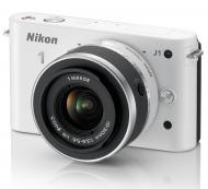 Цифровой фотоаппарат Nikon 1 J1 Kit + 10-30mm VR White (VVA152K001)