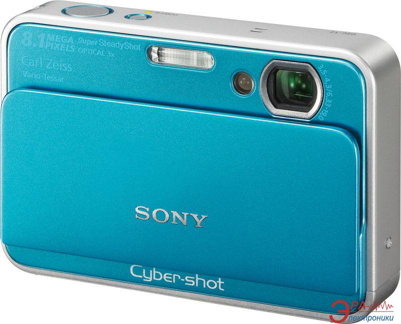 Цифровой фотоаппарат Sony Cyber-shot DSC-T2 Blue (DSC-T2B)