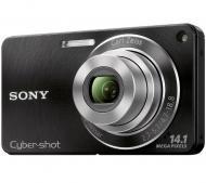 Цифровой фотоаппарат Sony Cyber-shot DSC-W350 Black (DSC-W350B)