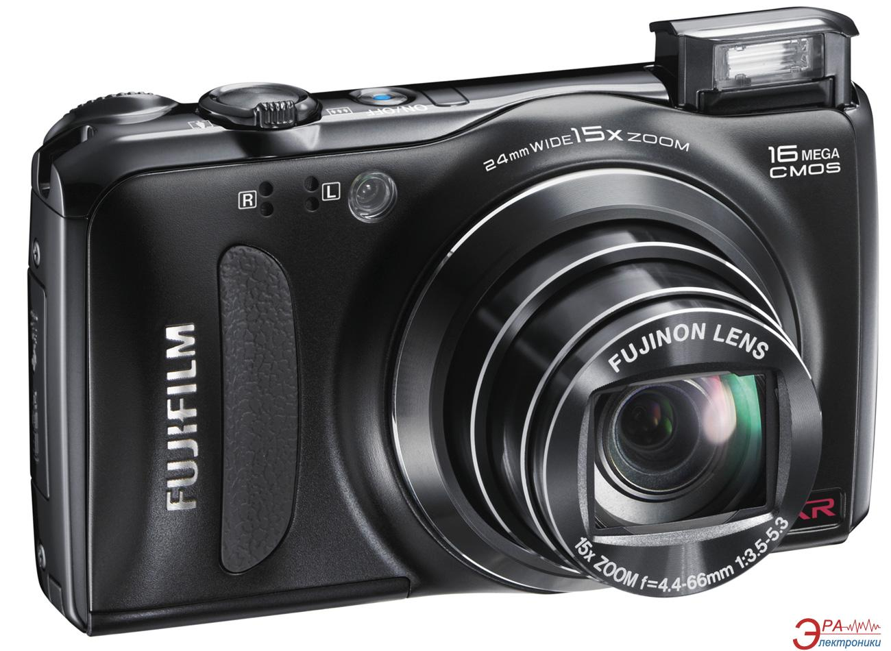 Цифровой фотоаппарат Fujifilm FinePix F500EXR Black (16112491)