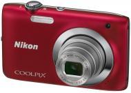 �������� ����������� Nikon COOLPIX S2600 Red (VMA962E1)