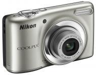 Цифровой фотоаппарат Nikon COOLPIX L25 Silver (VMA990E1)