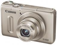 Цифровой фотоаппарат Canon PowerShot S100 Silver