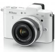 �������� ����������� Nikon 1 V1 Kit + �������� 10-30mm VR White (VVA102K001)