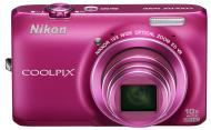Цифровой фотоаппарат Nikon Coolpix S6300 Pink