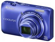 Цифровой фотоаппарат Nikon Coolpix S6300 Blue
