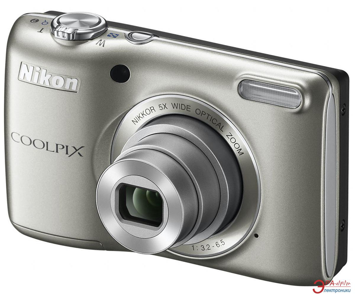 Цифровой фотоаппарат Nikon Coolpix L26 Silver