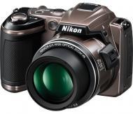 Цифровой фотоаппарат Nikon COOLPIX L120 Bronze