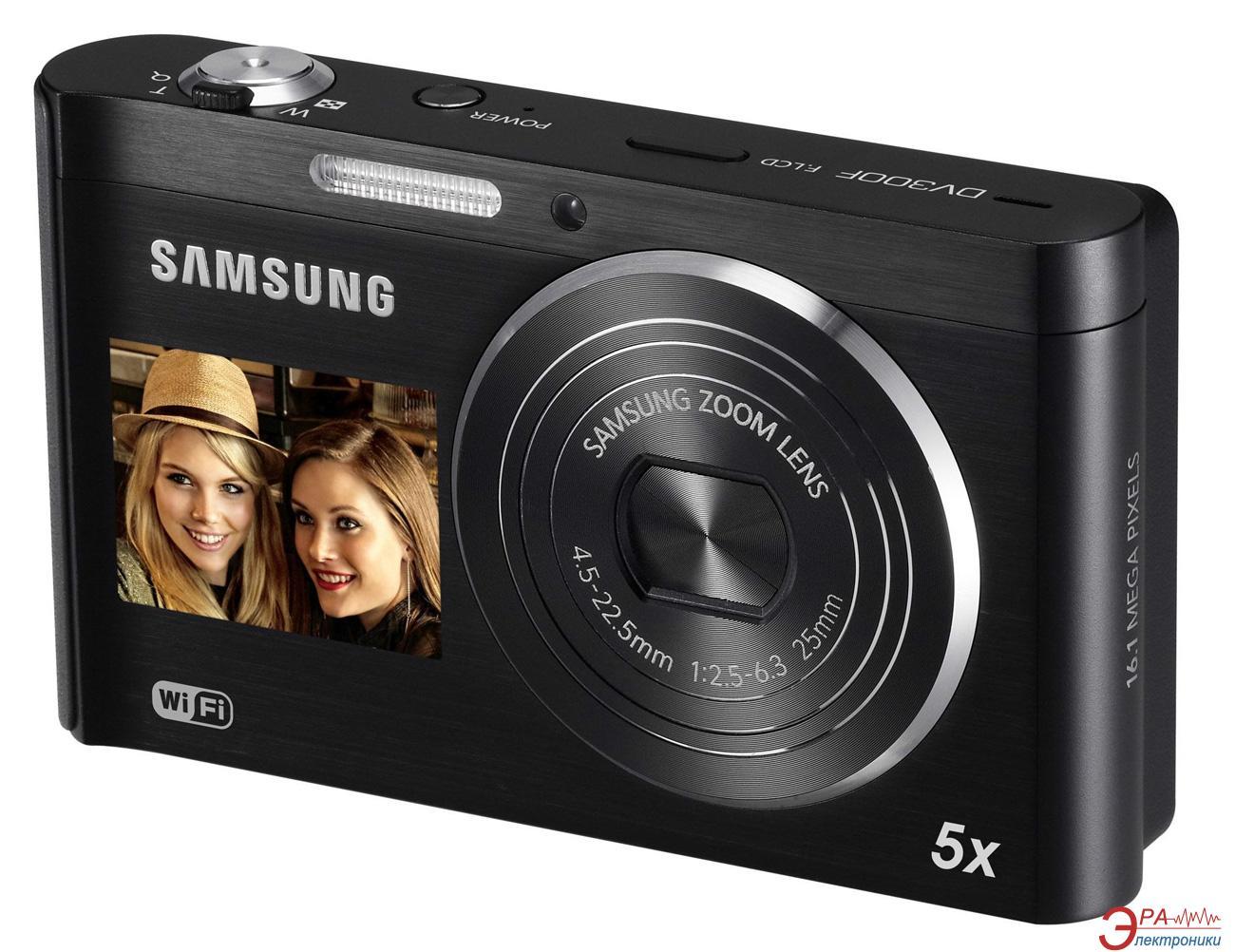 Цифровой фотоаппарат Samsung DV300F Black (EC-DV300FBPBRU)