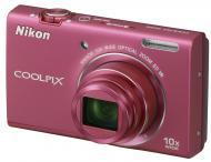 Цифровой фотоаппарат Nikon COOLPIX S6200 Pink