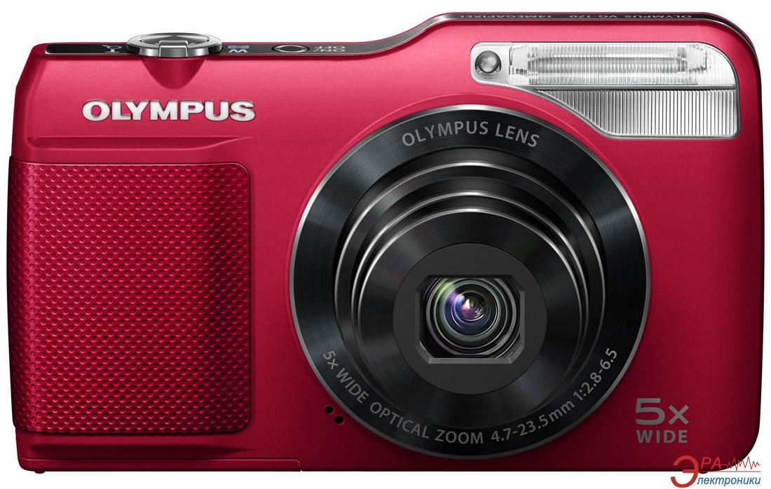 Цифровой фотоаппарат Olympus VG-170 Red