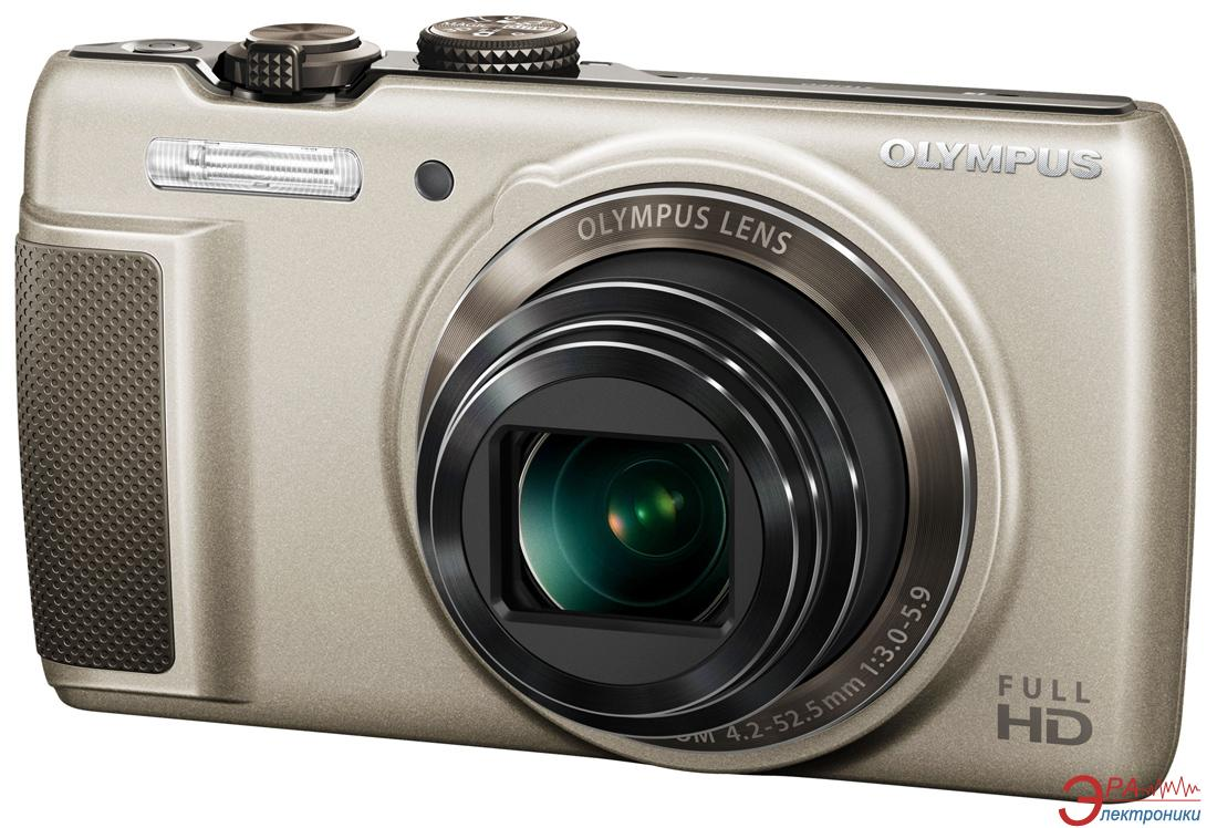 Цифровой фотоаппарат Olympus SH-21 Gold