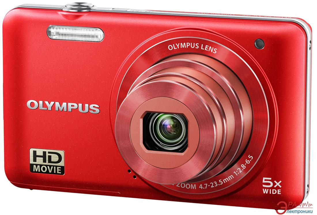 Цифровой фотоаппарат Olympus VG-160 Red