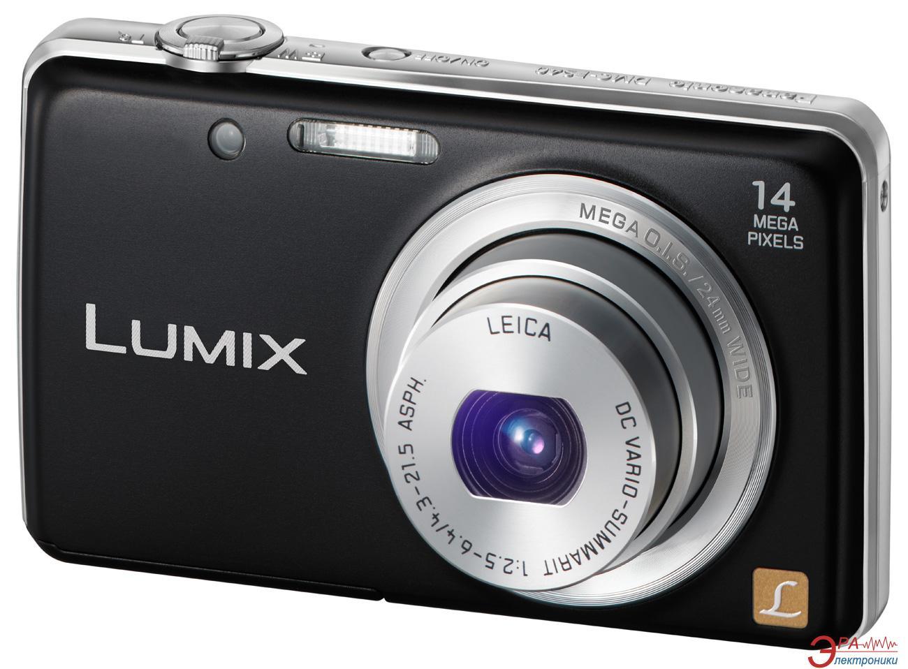 Цифровой фотоаппарат Panasonic Lumix DMC-FS40 Black