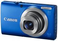 Цифровой фотоаппарат Canon Powershot A4000 IS Blue