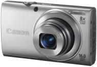 Цифровой фотоаппарат Canon Powershot A4000 IS Silver (6148B014)