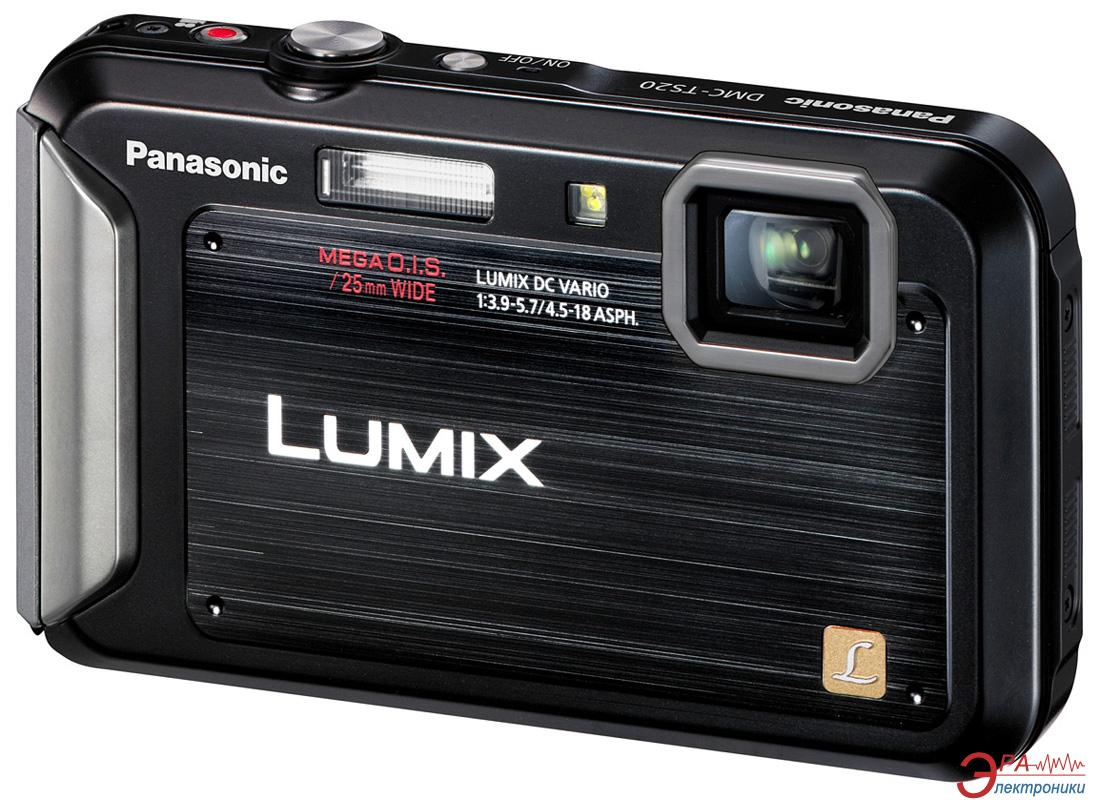 Цифровой фотоаппарат Panasonic Lumix DMC-FT20 Black (DMC-FT20EE-K)