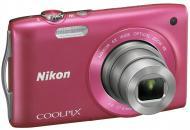 Цифровой фотоаппарат Nikon COOLPIX S3300 Pink