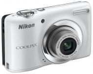Цифровой фотоаппарат Nikon COOLPIX L25 White (VMA992E1)