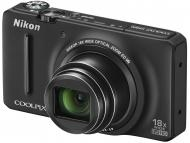 Цифровой фотоаппарат Nikon COOLPIX S9200 Black (VNA141E1)