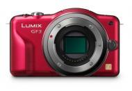 Цифровой фотоаппарат Panasonic Lumix DMC-GF3 Kit 20mm Red (DMC-GF3CEE-R)