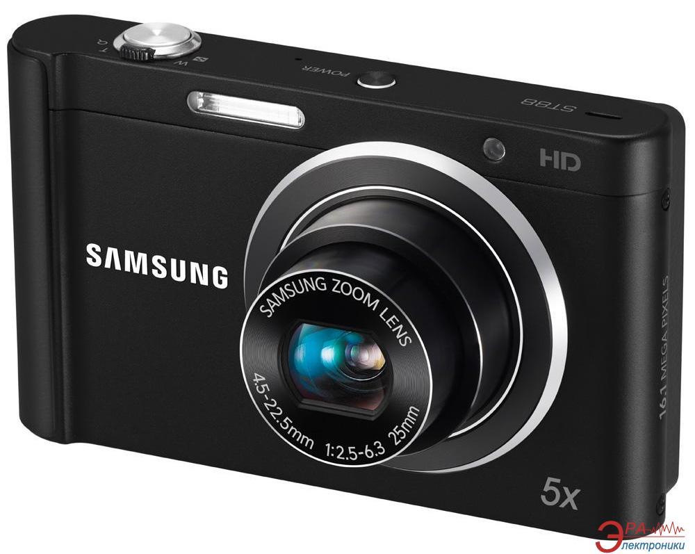Цифровой фотоаппарат Samsung ST88 Black (EC-ST88ZZBPBRU)