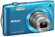 Цифровой фотоаппарат Nikon COOLPIX S3300 Blue