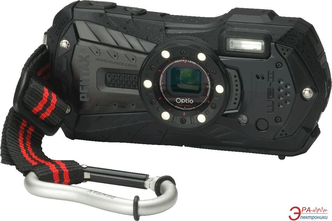 Цифровой фотоаппарат Pentax Optio WG-2 Black (15472)