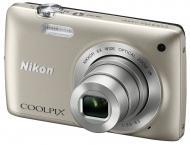 Цифровой фотоаппарат Nikon COOLPIX S4300 Silver (VMA940E1)