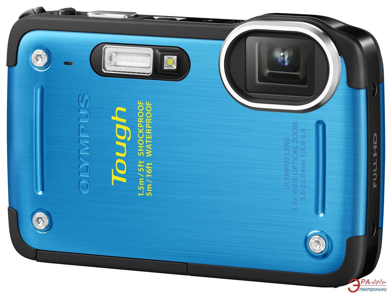 Цифровой фотоаппарат Olympus TG-620 Blue