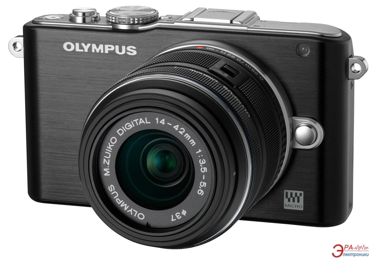 Цифровой фотоаппарат Olympus E-PL3 14-42 mm kit Black (V205031BE000)