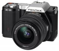 �������� ����������� Pentax K-01 + DA L 18-55mm Black (15261)
