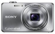 Цифровой фотоаппарат Sony Cyber-Shot DSC-WX100 Silver (DSCWX100S.CEE2)