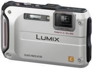 Цифровой фотоаппарат Panasonic Lumix DMC-FT4 Silver (DMC-FT4EE-S)