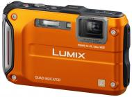Цифровой фотоаппарат Panasonic Lumix DMC-FT4 Orange (DMC-FT4EE-D)