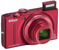 Цифровой фотоаппарат Nikon COOLPIX S8200 Red