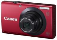 Цифровой фотоаппарат Canon Powershot A3400 IS Red (6186B013)