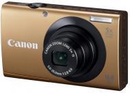Цифровой фотоаппарат Canon Powershot A3400 IS Gold (6187B013)