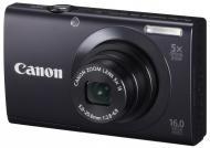 Цифровой фотоаппарат Canon Powershot A3400 IS Black (6187B013)