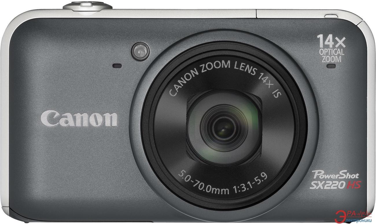 Цифровой фотоаппарат Canon PowerShot SX220 HS Black