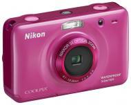 Цифровой фотоаппарат Nikon COOLPIX S30 Pink