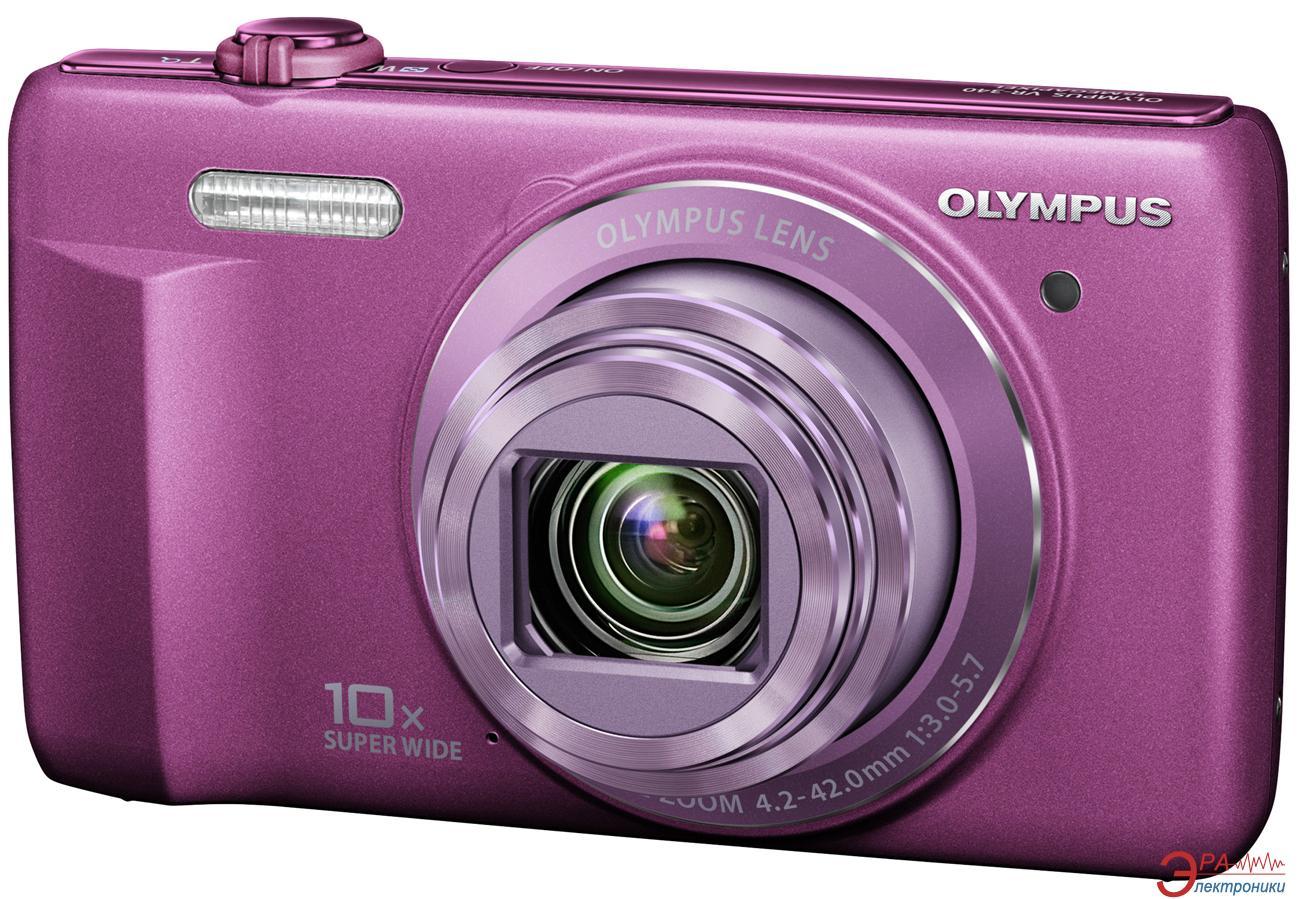 Цифровой фотоаппарат Olympus VR-340 Purple