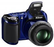 Цифровой фотоаппарат Nikon COOLPIX L810 Blue (VMA973E1)